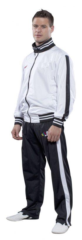 Trainingspak voor kinderen Wit - Zwart