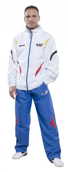 "Trainingspak ""ITF"" Wit - Blauw"