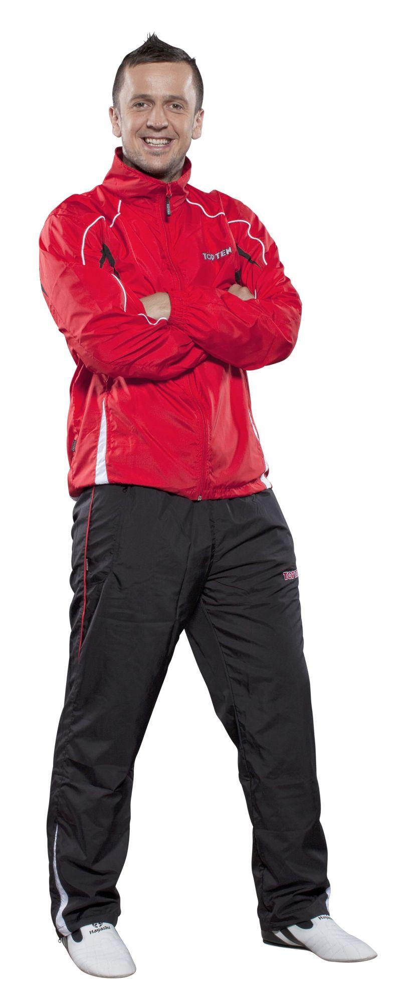 Trainingspak Rood - Zwart