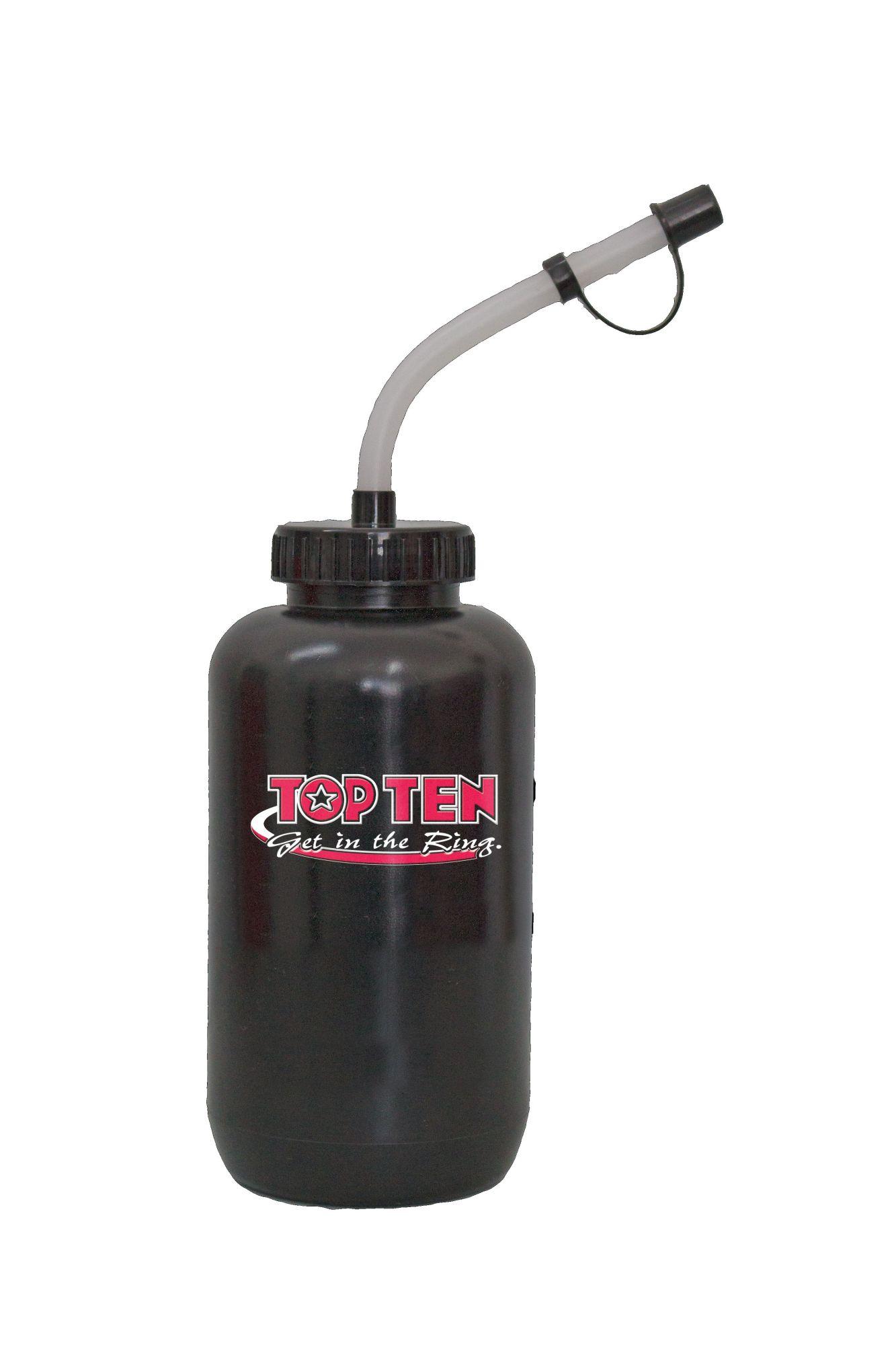 TOP TEN Bidon (1 Liter) Zwart