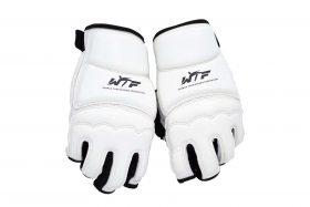 Taekwondo handschoenen (WTF approved) Wit - Zwart