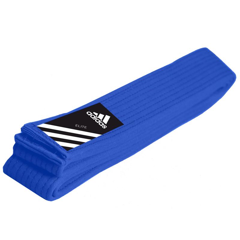 adidas Judoband Elite 45 mm Blauw