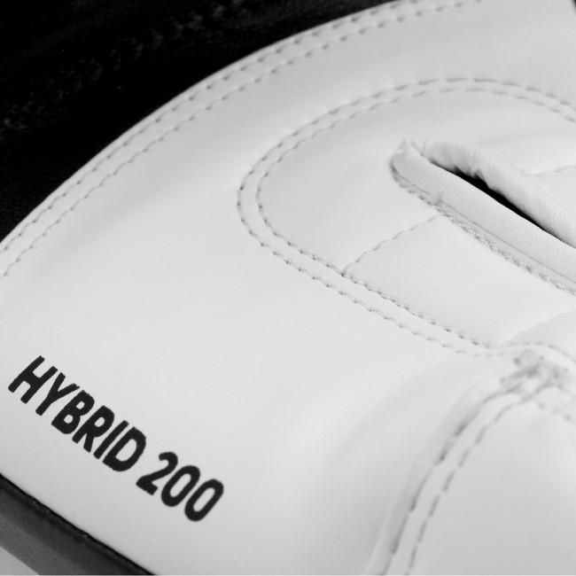 adidas Hybrid 200 (Kick)Bokshandschoenen (Zwart/Wit)