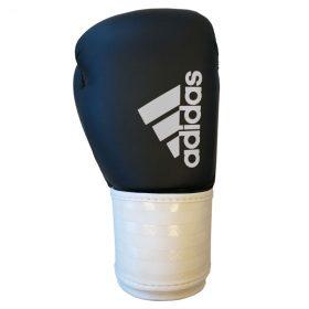 adidas Hybrid 50 (Kick)Bokshandschoenen Zwart/Wit 6 oz