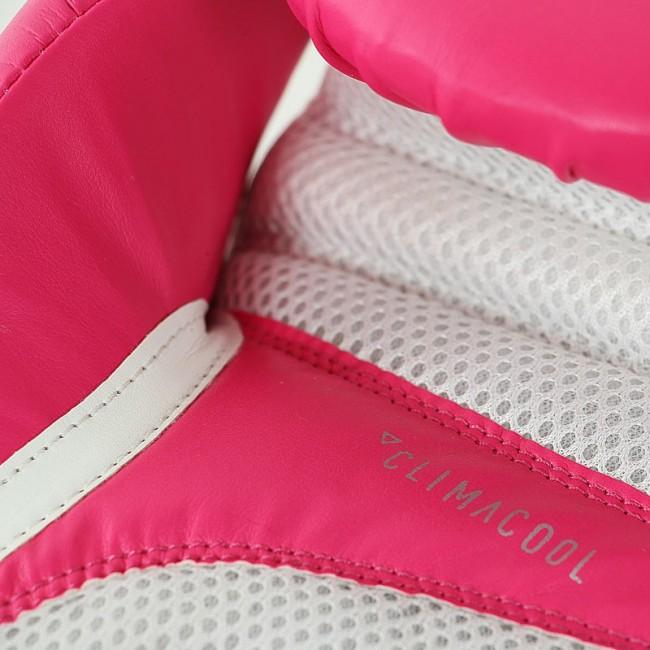 adidas Speed 100 (Kick)Bokshandschoenen (Roze/Zilver) Women's Edition