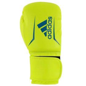 adidas Speed 50 (Kick)Bokshandschoenen Geel/Blauw 4oz