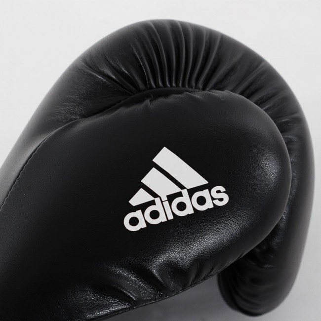 adidas Speed 50 (Kick)Bokshandschoenen (Zwart/Wit)