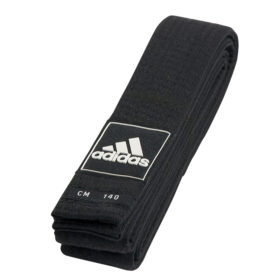 adidas Taekwondoband Competitie Junior 43mm (zwart)