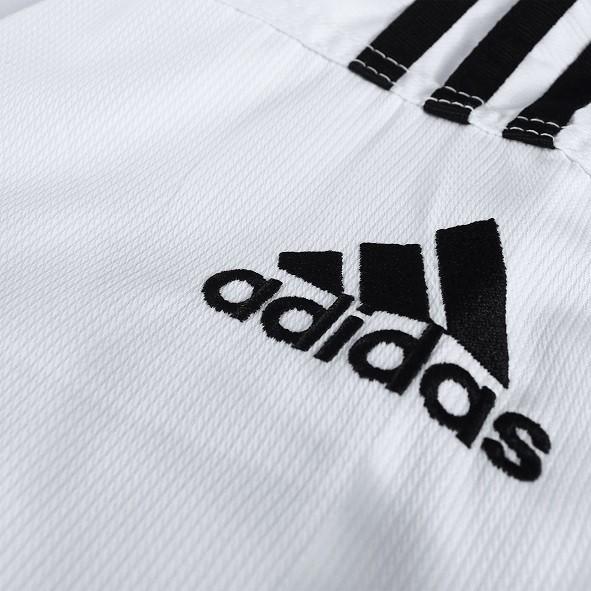 adidas Dobok ADI-Club 3/// (Zwart/Wit)