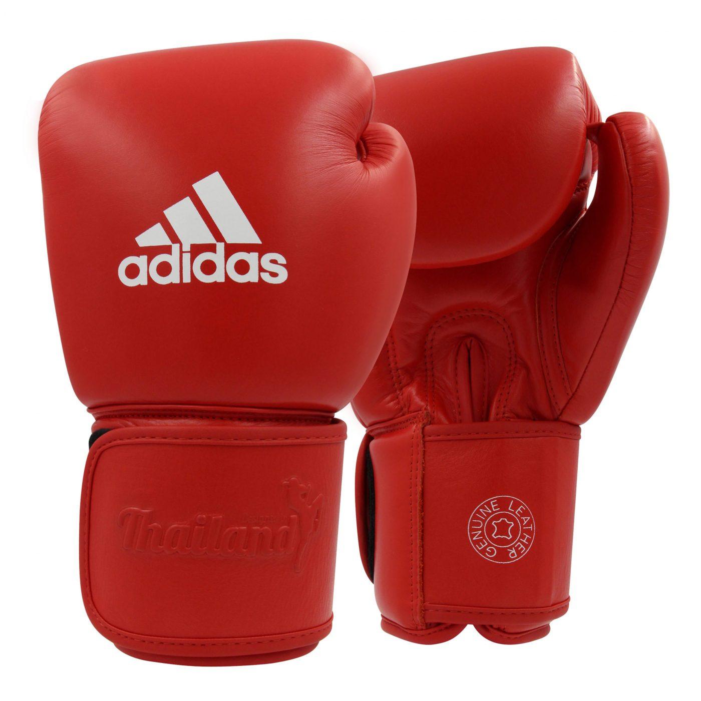 adidas Muay Thai Handschoenen TP200 Rood/Wit 10oz