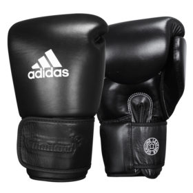 adidas Muay Thai Handschoenen TP300 Zwart/Wit 10oz