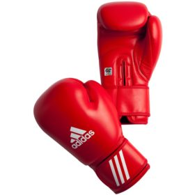 adidas AIBA bokshandschoenen 10 oz (rood)