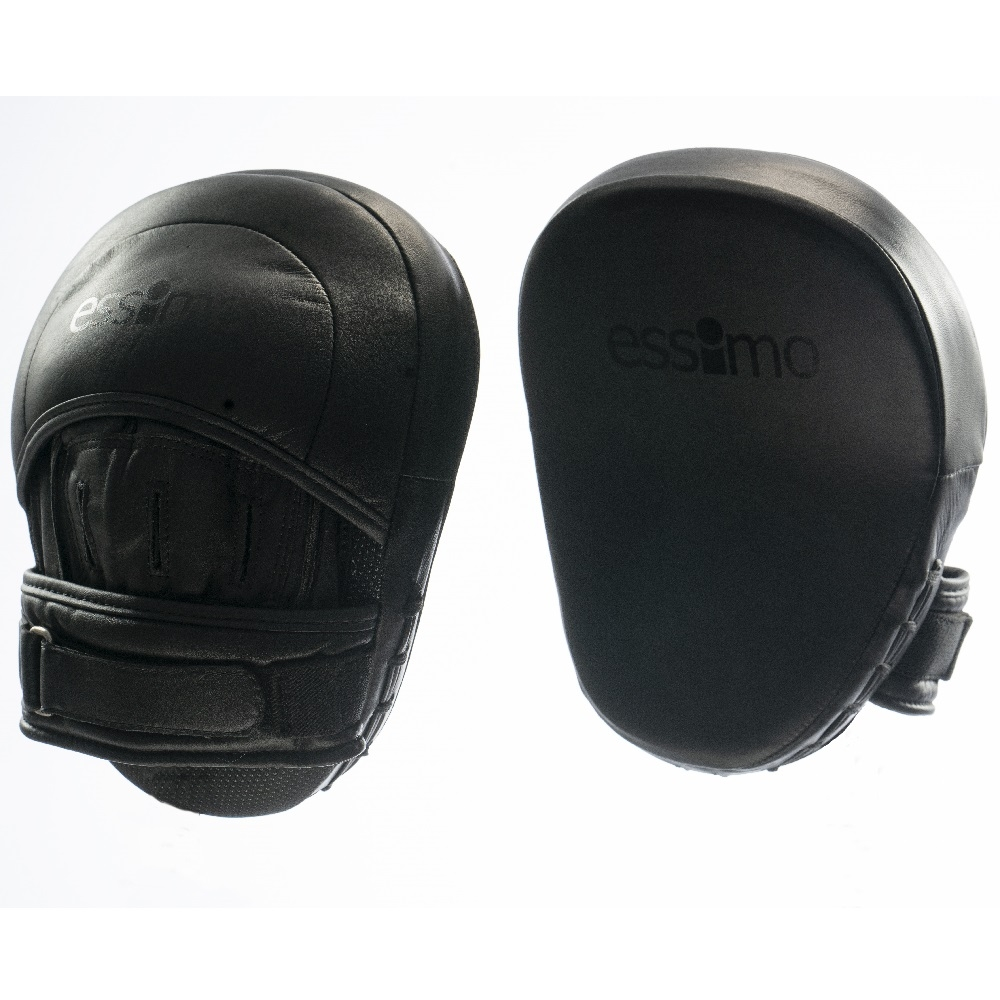 """Essimo """"Superior"""" Focus Mitts Leder - Black"""