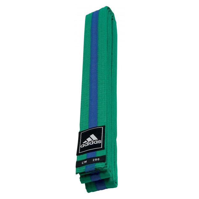 adidas Taekwondo Poomsae Band Groen/Blauw