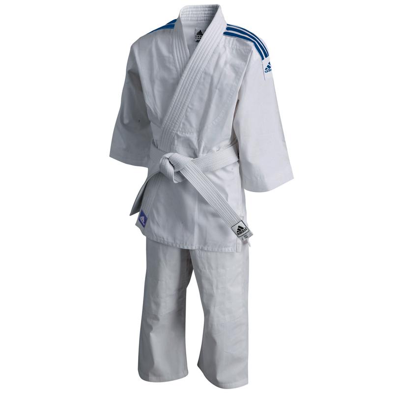 Adidas Judopak Evolution II Wit/Blauw