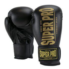 Super Pro Combat Gear Champ SE (kick)bokshandschoenen Zwart/Goud 8oz
