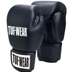 TUF Wear Muay Thai (Kick)Bokshandschoenen (Zwart)
