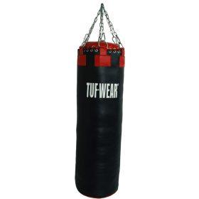 TUF Wear lederen bokszak (122 cm)