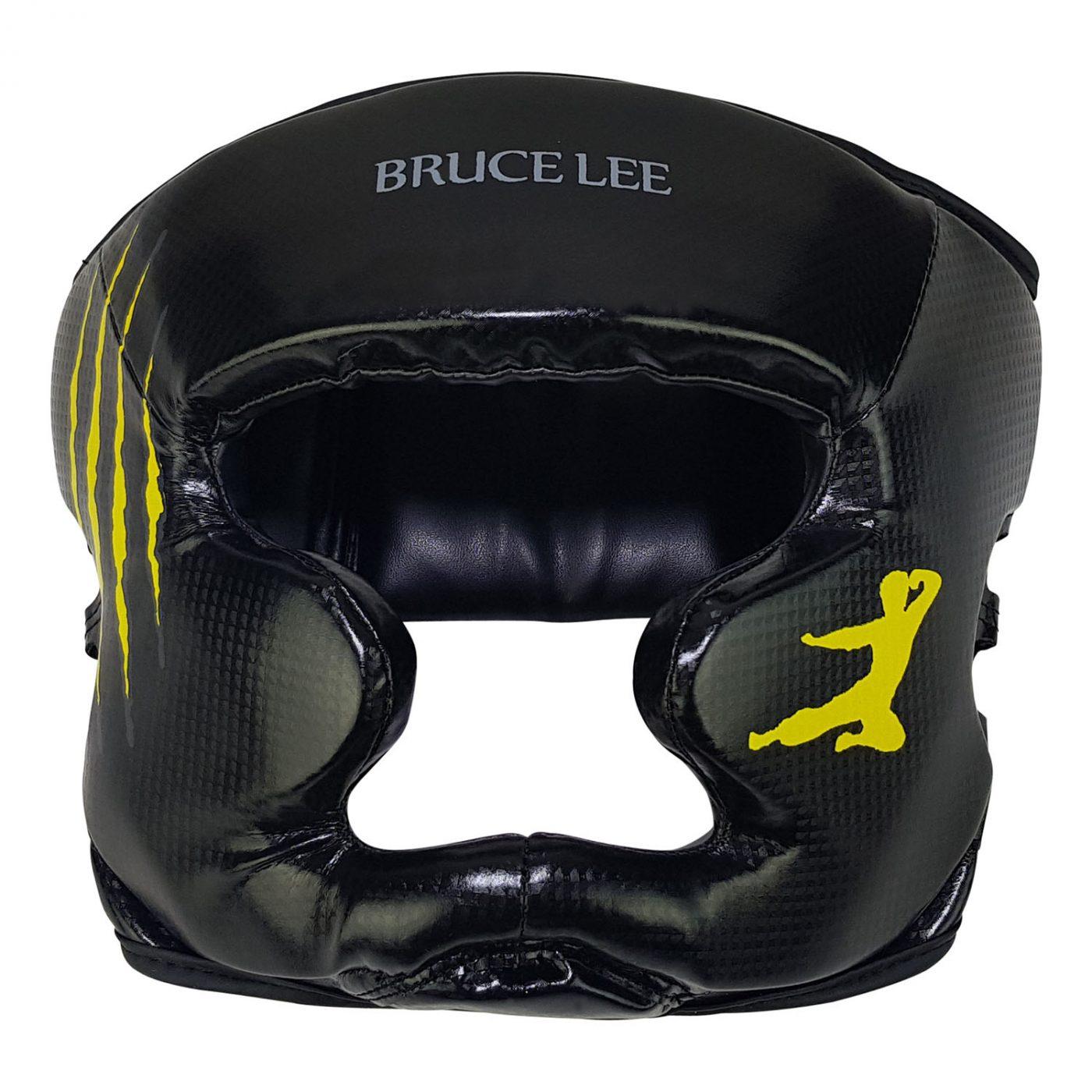 Bruce Lee Signature Hoofdbeschermer - Kickbokshoofdbeschermer - PU