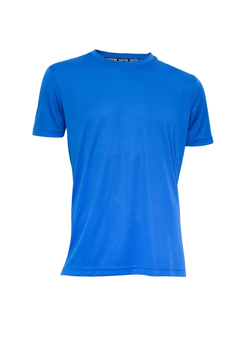 "T-Shirt ""Competition"" Blauw"
