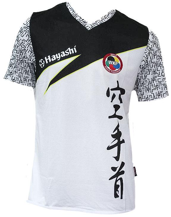 "Hayashi T-Shirt ""WKF Aztec"" (Wit)"