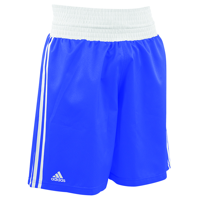 adidas Amateur Boxing Short Lightweight Blauw/Wit Extra Small