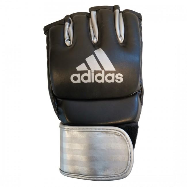 adidas Ultimate MMA Handschoenen (Zwart/Zilver)