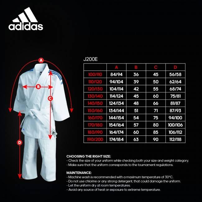 Adidas Judopak (J200E)