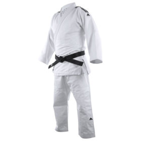 Adidas Judopak J690 Quest Wit/Zwart 150cm