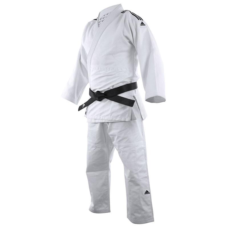 Adidas Judopak J650 Contest Wit/Zwart 150cm