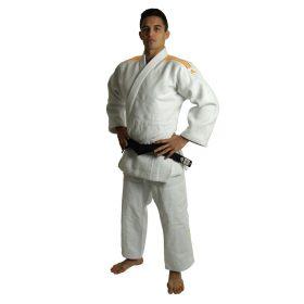 adidas Judopak J990 Millenium Wit/Oranje 150cm
