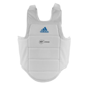 adidas Karate Bodyprotector WKF approved (Wit)