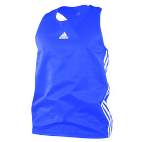 adidas Amateur Boxing Tank Lightweight Blauw/Wit Extra Small