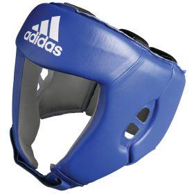 adidas AIBA hoofdbeschermer (blauw) S
