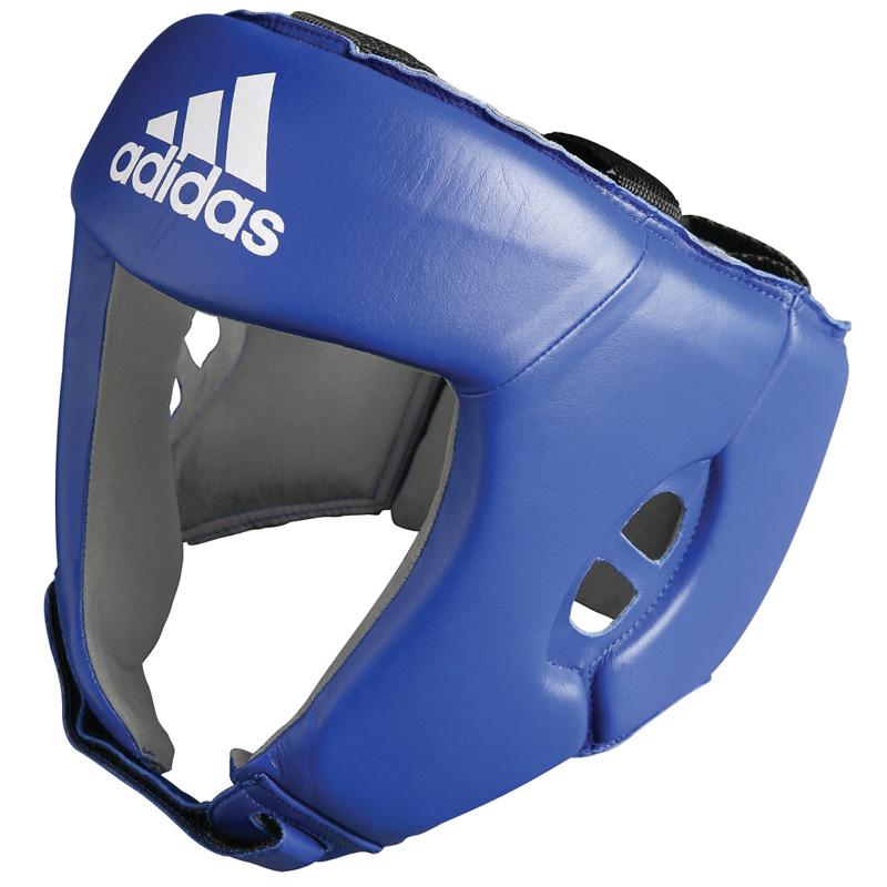 adidas AIBA hoofdbeschermer blauw S