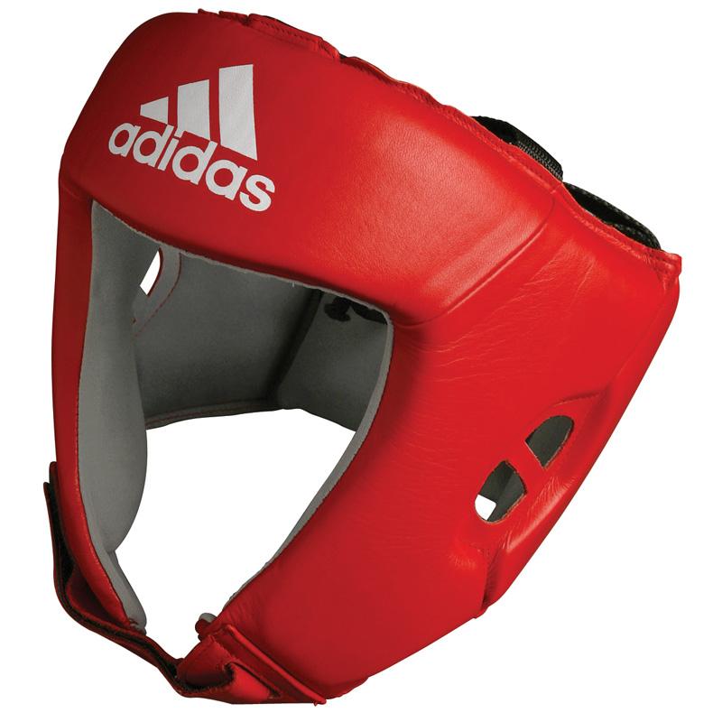 adidas AIBA hoofdbeschermer (rood) L