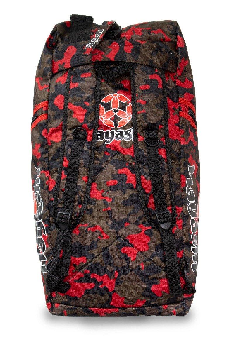 Hayashi Rugtas / Sporttas Camouflage - (rood)