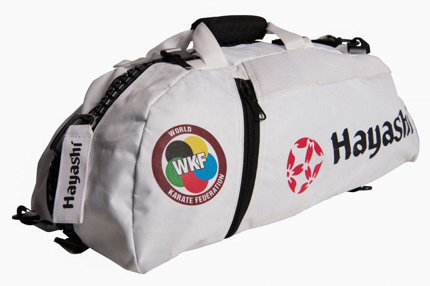 "Hayashi Rugtas / Sporttas ""WKF"" (Wit)"