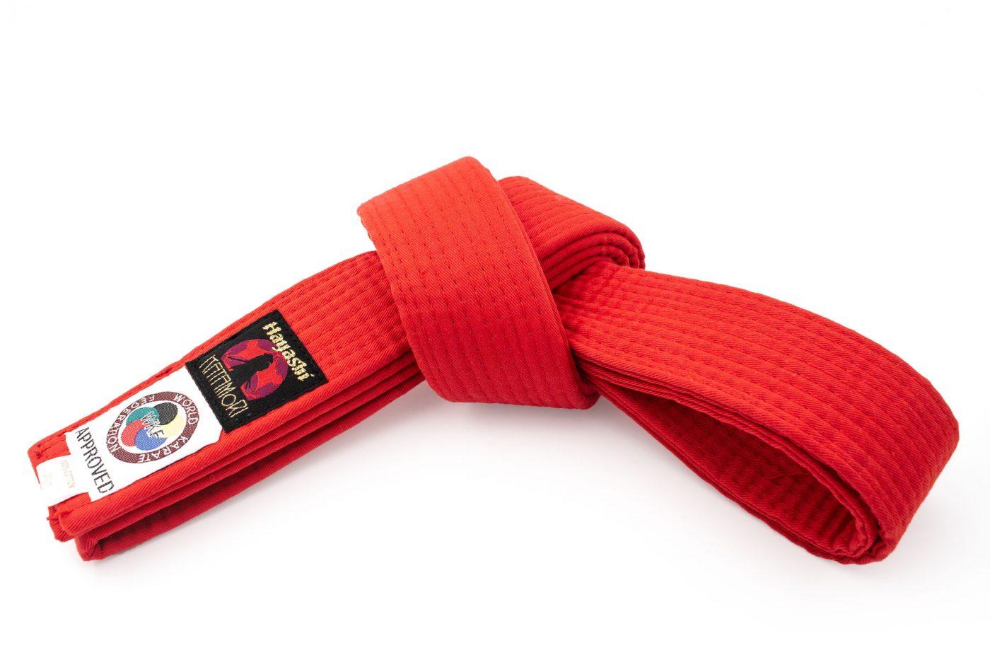 Hayashi Karateband (Rood)