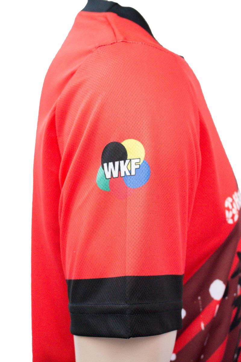 """Hayashi T-Shirt """"WKF RISING SUN"""" (R/Z)"""