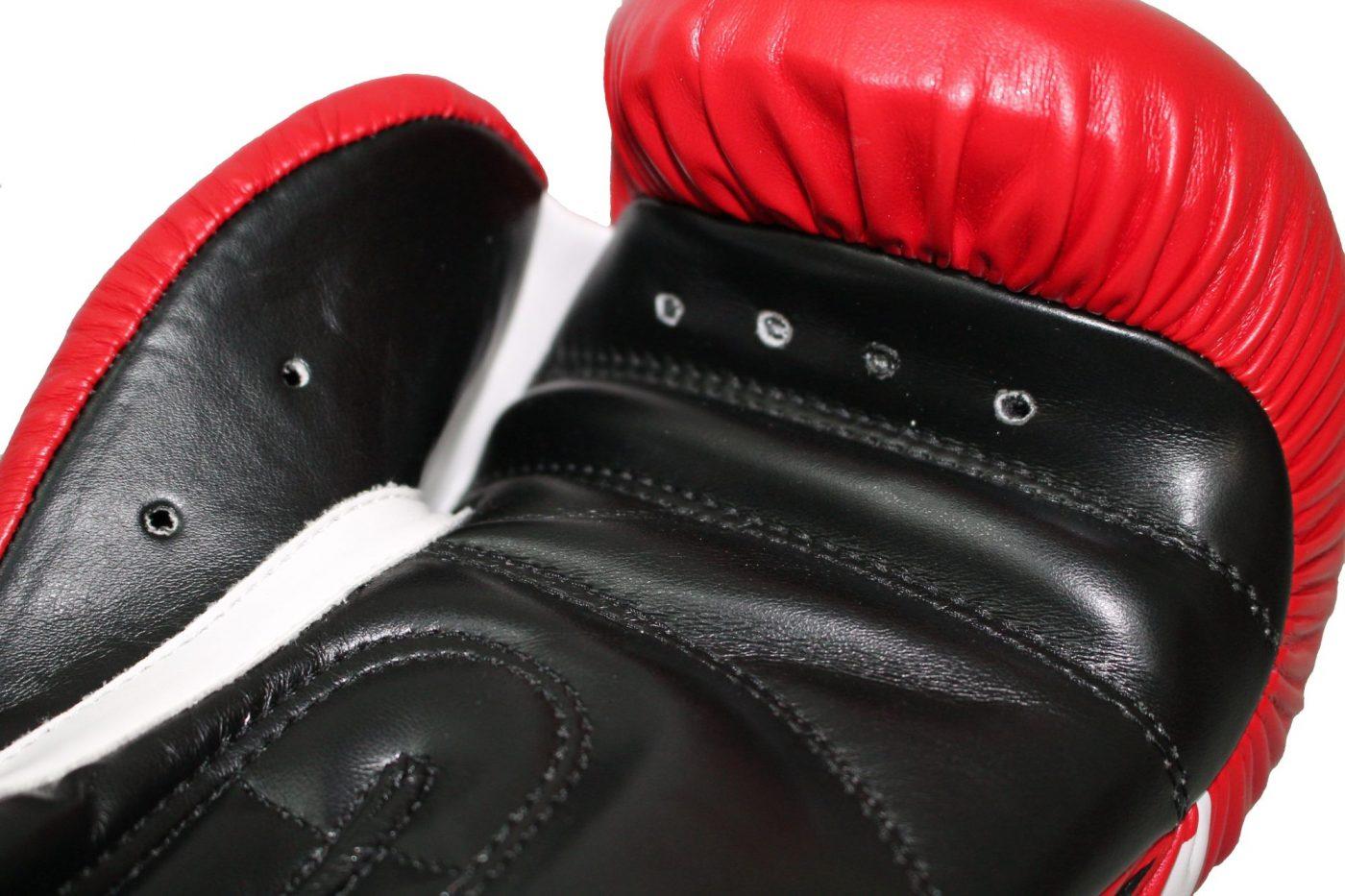 Manus Bokshandschoenen / sparringshandschoenen Rood - Wit
