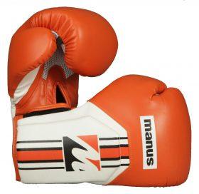 """Bokshandschoenen / sparringshandschoenen """"Cool"""" Oranje - Wit"""
