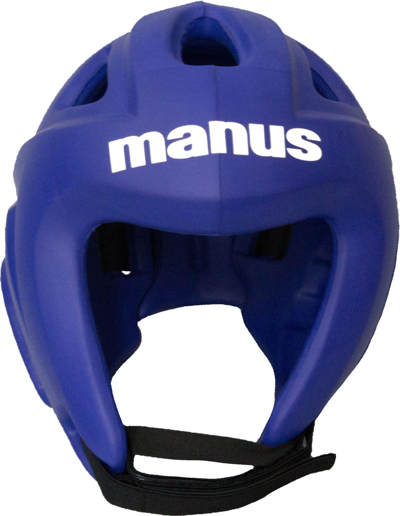 """Manus Hoofdbeschermer """"Light"""" (Blauw) XS"""