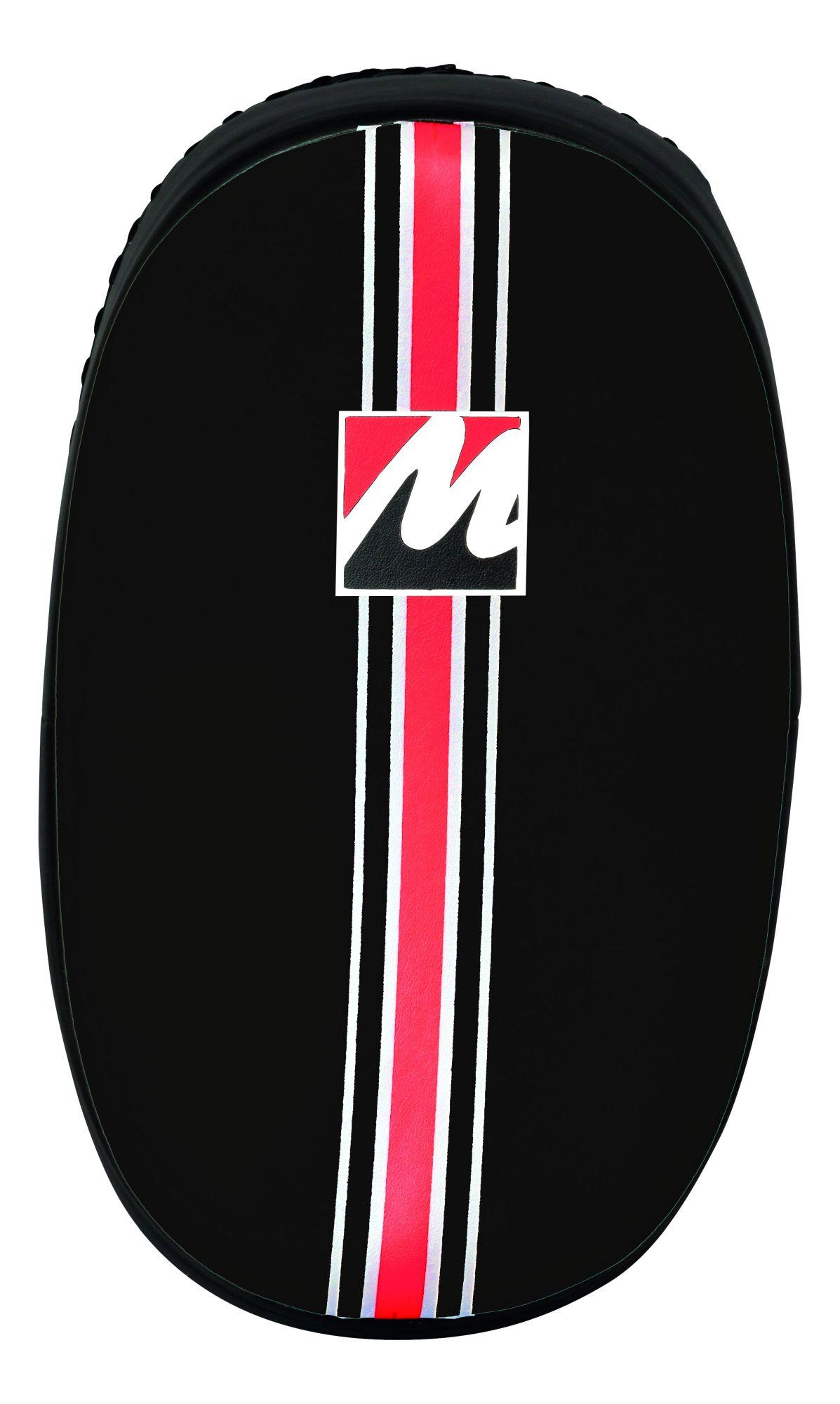 """Manus Trapkussen """"Oval"""" Zwart - (rood)"""