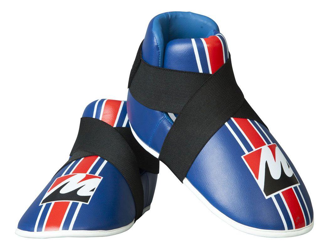 Manus Kicks voetbeschermers Wit - (rood)