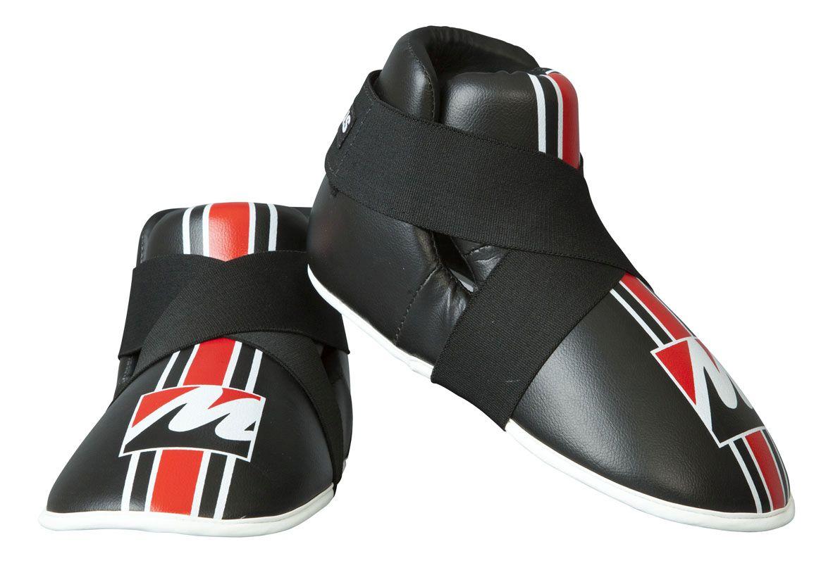 Kicks voetbeschermers Zwart - rood