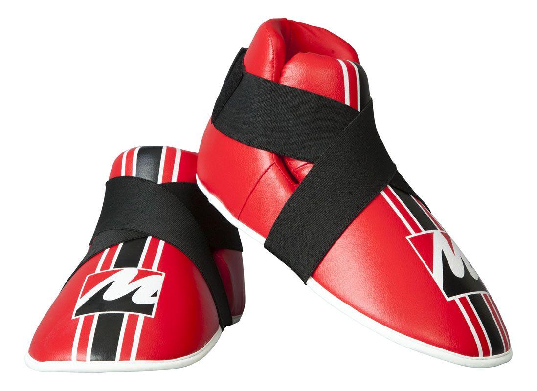 Manus Kicks voetbeschermers Rood-(rood)