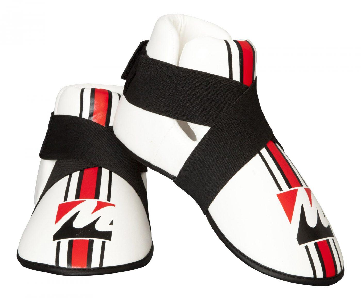Kicks voetbeschermers Wit - rood