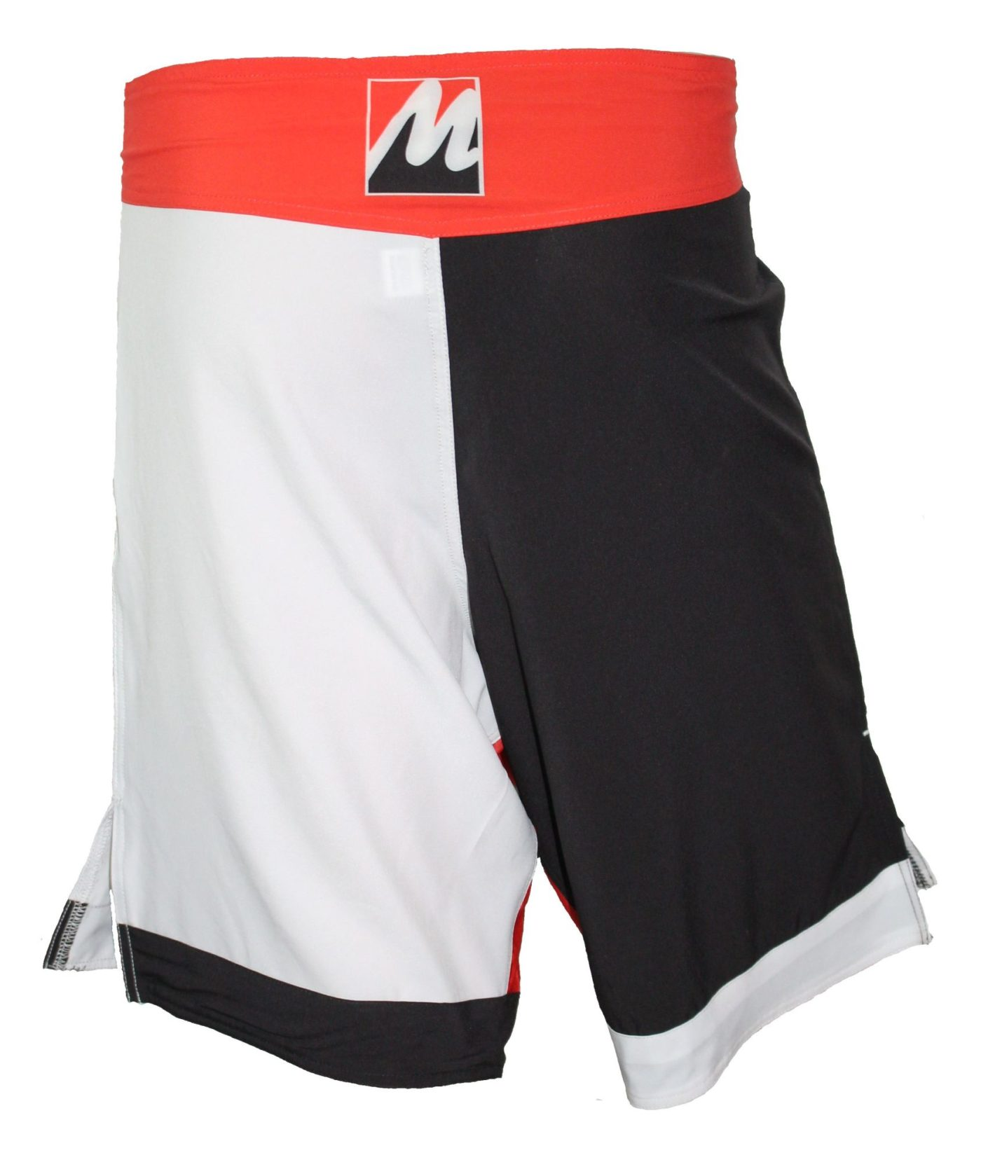 Manus MMA Boksbroekje (Zwart - Wit)
