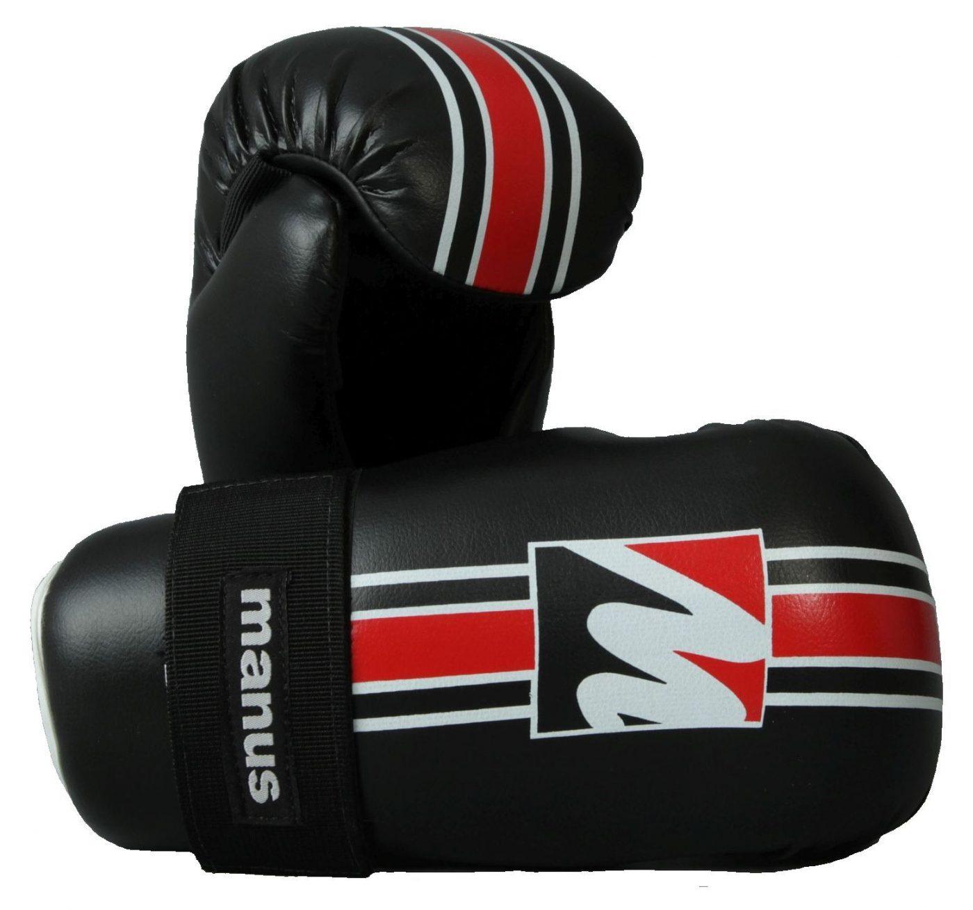Manus Pointfighter Zwart - rood